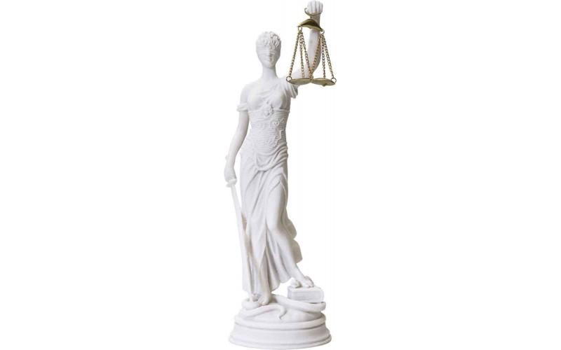 Θέμις (Διακοσμητικό Αγαλμα / Αλάβαστρο)