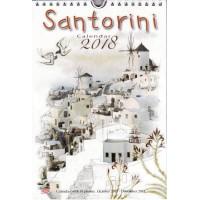 Greek Wall Calendar 2018: Santorini / ΣΑΝΤΟΡΙΝΗ