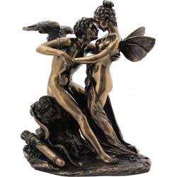 Ερως και Ψυχή (Διακοσμητικό μπρούτζινο άγαλμα 17,5cm)