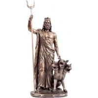 Αδης Μυθικός Θεός του Κάτω Κόσμου (Διακοσμητικό Μπρούτζινο Αγαλμα 32cm)