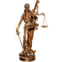 Θέμις (Διακοσμητικό μπρούτζινο άγαλμα 25cm)