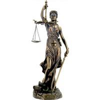 Θέμις (Διακοσμητικό μπρούτζινο άγαλμα 30cm)