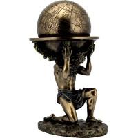 Ατλας (Διακοσμητικό Μπρούτζινο Αγαλμα 23.5 cm )