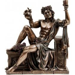Διόνυσος ο Θεός του κρασιού (Διακοσμητικό Μπρούτζινο Αγαλμα 21x25cm)