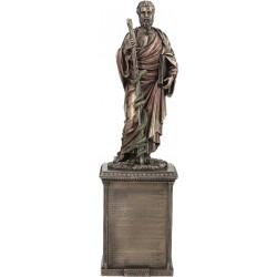 Ιπποκράτης με όρκο στην βάση (Διακοσμητικό μπρούτζινο άγαλμα 41cm)