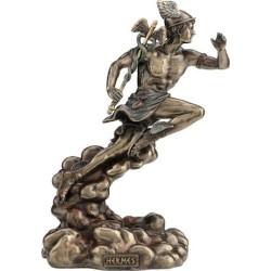 Ερμής ο αγγελιαφόρος ( Διακοσμητικό μπρούτζινο άγαλμα 22cm)