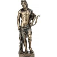 Απόλλων ο Θεός της μουσικής (Διακοσμητικό μπρούτζινο άγαλμα 25cm)