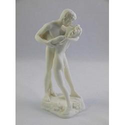 Φιλί (Διακοσμητικό αλαβάστρινο άγαλμα 18cm)