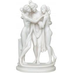 Τρεις Χάριτες (Διακοσμητικό αλαβάστρινο άγαλμα 13cm)