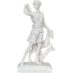 Θεά Αρτεμις (Διακοσμητικό αλαβάστρινο άγαλμα 25cm)