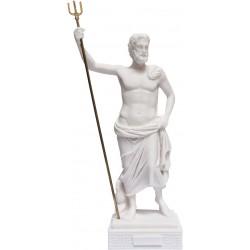 Θεός Ποσειδών (Διακοσμητικό αλαβάστρινο άγαλμα 26cm)