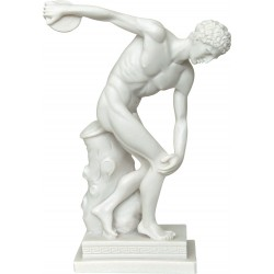 Δισκοβόλος (Διακοσμητκό αλαβάστρινο άγαλμα 29cm)