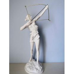 Αρτεμις Κυνηγός (Διακοσμητικό αλαβάστρινο άγαλμα 40cm)