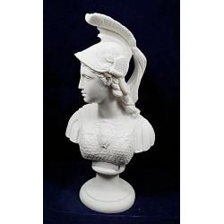 Θεά Αθηνά (Διακοσμητικό αλαβάστρινο άγαλμα προτομή 24cm)
