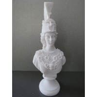 Θεά Αθηνά (Διακοσμητικό αλαβάστρινο άγαλμα προτομή 20cm)