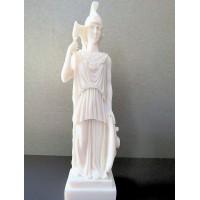 Θεά Αθηνά (Διακοσμητικό αλαβάστρινο άγαλμα 19cm)
