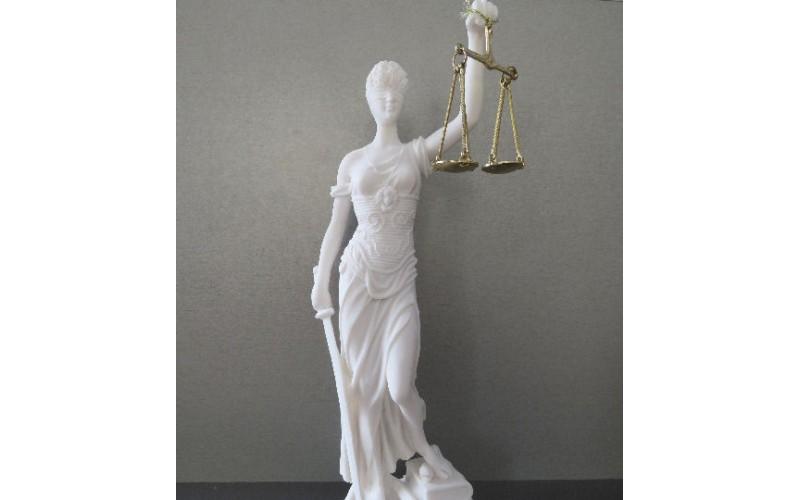 Θεά Θέμις (Διακοσμητικό αλαβάστρινο άγαλμα 35cm)