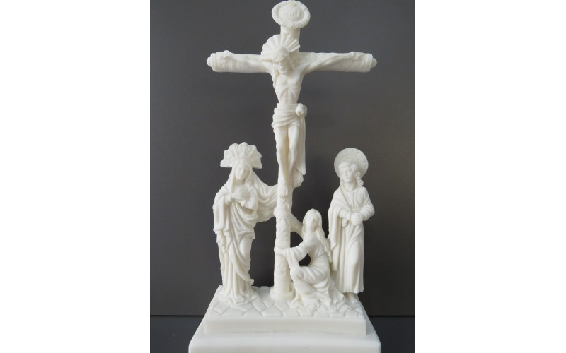 Σταύρωσις (Αλαβάστρινο άγαλμα 28cm)