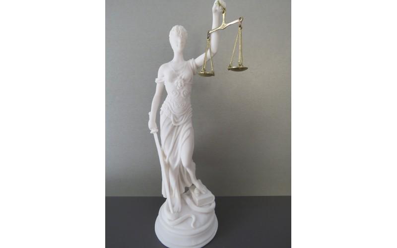 Θεά Θέμις (Διακοσμητικό αλαβάστρινο άγαλμα 38cm)
