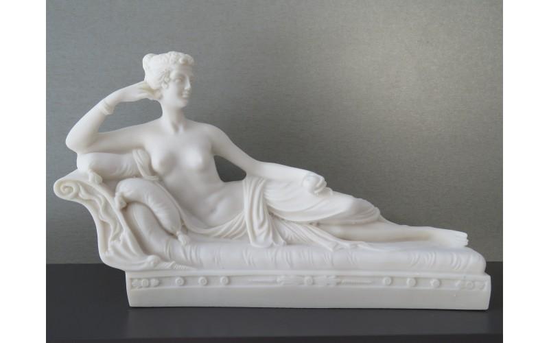 Η κυρία Παυλίνα  (Διακοσμητικό αλαβάστρινο άγαλμα 18cm)