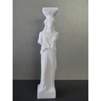 Καρυάτις (Διακοσμητικό αλαβάστρινο άγαλμα 15cm)