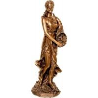 Θεά Τύχη (Διακοσμητικό μπρούτζινο  άγαλμα 32cm)