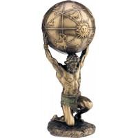 Ατλας (Διακοσμητικό Μπρούτζινο Αγαλμα 21 cm )