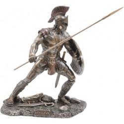 Αχιλλέας Ελληνας Μυθικός Ηρωας / Πολεμιστής (Μπρούτζινο Αγαλμα 12.5cm)