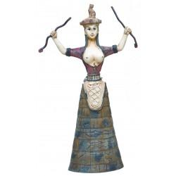Μινωική Θεά όφεων (Polyresin άγαλμα 30x12εκ)