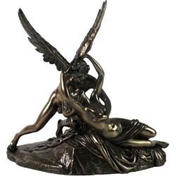 Ερως και Ψυχή (Διακοσμητικό μπρούτζινο άγαλμα 30,5cm)