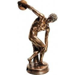 Δισκοβόλος (Διακοσμητκό μπρούτζινο άγαλμα 21εκ)
