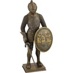 Ιππότης (Μπρούτζινο Αγαλμα 33εκ.)