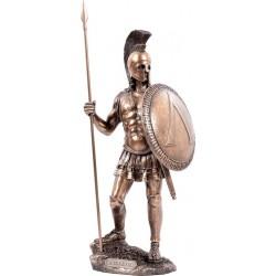 Σπαρτιάτης πολεμιστής (Μπρούτζινο Αγαλμα 36εκ)