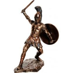 Εκτωρ Ελληνας Μυθικός Ηρωας / Πολεμιστής (Διακοσμητικό Μπρούτζινο Αγαλμα 29.5m)