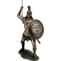 Σπαρτιάτης πολεμιστής (Μπρούτζινο Αγαλμα 12.5εκ)