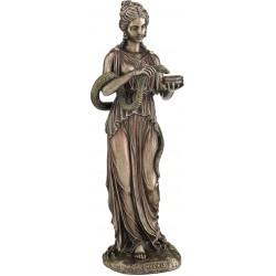 Θεά Υγεία (Διακοσμητικό μπρούτζινο άγαλμα 27.5εκ)