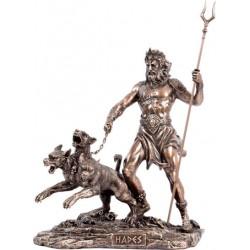 Αδης με Κέρβερο (Μπρούτζινο άγαλμα 20εκ)