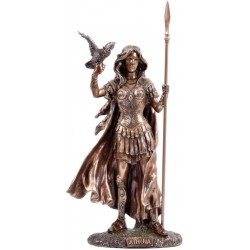 Θεά Αθηνά με κουκουβάγια (Μπρούτζινο άγαλμα 30,5εκ)