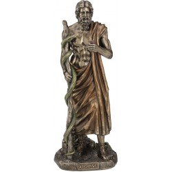 Ασκληπιός (Διακοσμητικό μπρούτζινο άγαλμα 29cm)