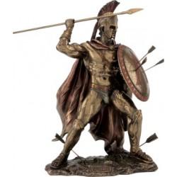 Λεωνίδας (Διακοσμητικό Μπρούζτινο Αγαλμα 21 cm)