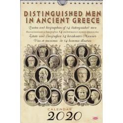 Ημερολόγιο 2020: Αρχαίοι σοφοί / Calendar 2020: Distinguished men in ancient Greece