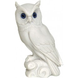 Η Κουκουβάγια της Θεάς Αθηνάς Σύμβολο της Σοφίας (Αλαβάστρινο Αγαλμα 16cm)