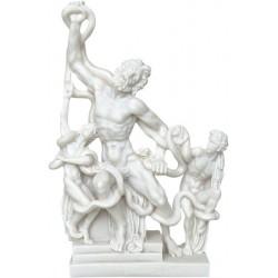 Λαοκόων και οι γιοί του (Αλαβάστρινο / Μαρμάρινο άγαλμα 29εκ)
