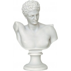 Ερμής (Αλαβάστρινο άγαλμα προτομή 30cm)