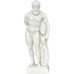Ηρακλής και το λιοντάρι της Νεμέας (Αλαβάστρινο Αγαλμα 40cm)