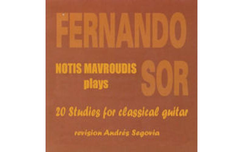 Mavroudis Notis - Music for classical guitar from F. Sor to the Beatles (Μαυρουδής Νότης)