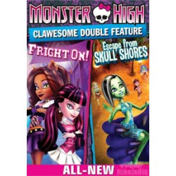 Monster High - Διπλό ατρόμητο θέαμα (Μonster High Clawesome Double Feature)
