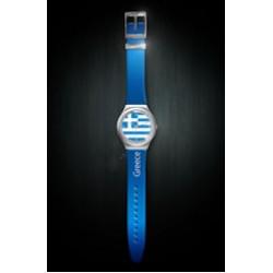 Greek flag Unisex watch