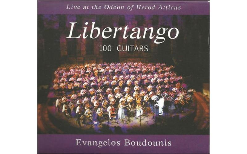 Μπουντούνης Βαγγέλης Boudounis Evangelos - Libertango / 100 Guitars Live