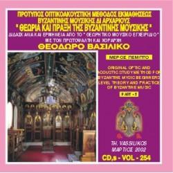 Βασιλικός Θεόδωρος - Θεωρία και πράξη της βυζαντινής μουσικής (Μέρος Ε)